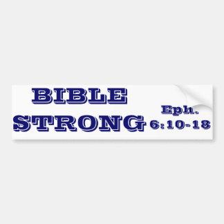 BIBLE STRONG,  Bumper Sticker Car Bumper Sticker