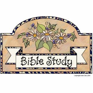 Bible Study - Decorative Sign Photo Sculptures
