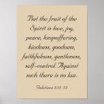 Bible Verse Artwork, Fruit of the Spirit