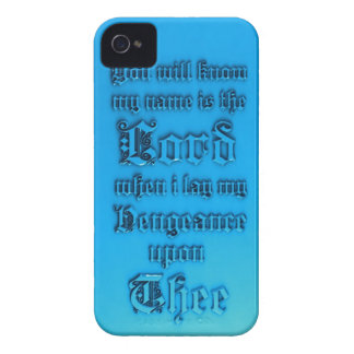 Bible Verse iPhone 4 Cover