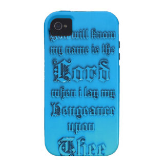 Bible Verse Vibe iPhone 4 Cover