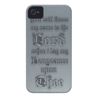 Bible Verse Cover iPhone 4 Case-Mate Case