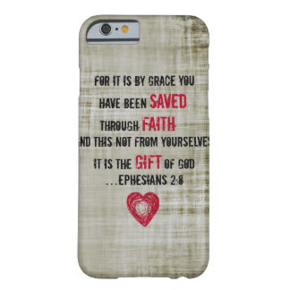 Bible Verse Ephesians 2:8 Barely There iPhone 6 Case