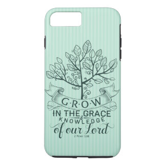 Bible Verse Grow in Grace iPhone 7 Case