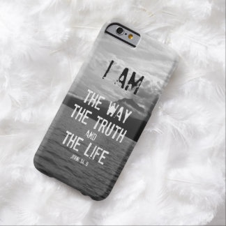 Bible Verse: I am the Way, Truth, Life Barely There iPhone 6 Case