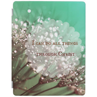 Bible Verse: I can do all things through Christ iPad Cover