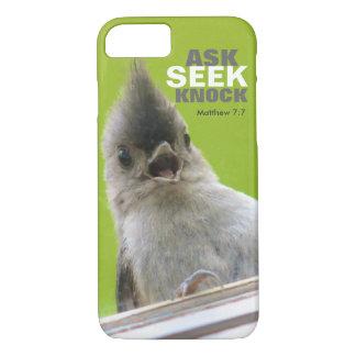 Bible Verse iPhone 7 case: Matthew 7: iPhone 7 Case