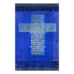 Bible Verse Isaiah 40:-31 contemporary Christian Personalized Stationery