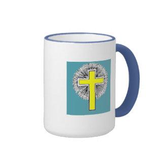 Bible Verse Josh 1:9  Ringer Coffee Mug