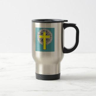 Bible Verse Josh 1:9 Stainless Steel Travel Mug