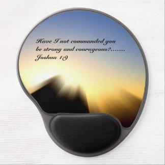 Bible Verse Joshua 1:9 Gel Mousepad Gel Mouse Mat