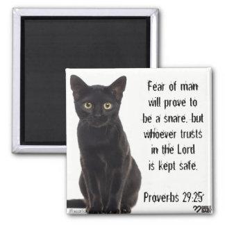 Bible Verse Magnet - Proverbs 29:25