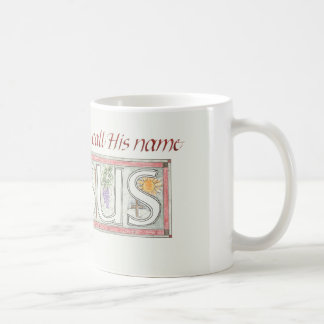 Bible Verse on bright white mug
