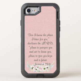 Bible Verse Phone OtterBox Defender iPhone 7 Case