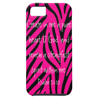 bible verse Psalm 51:10 iPhone 5 Cases