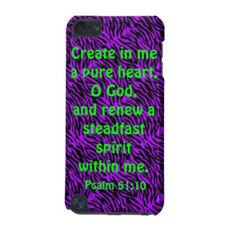 bible verse Psalm 51:10 iPod Touch 5G cover