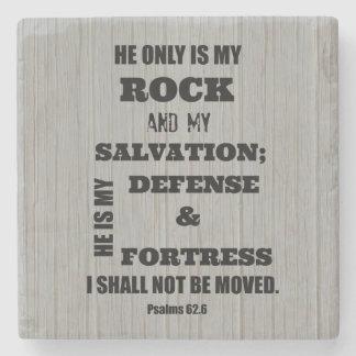 Bible Verse Stone Beverage Coaster