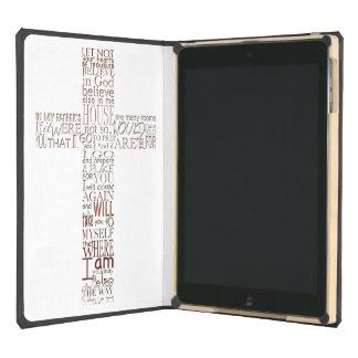 Bible verses from John Copper - iPad Air DODOcase iPad Air Covers