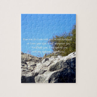 Bible Verses Inspirational Quote Isaiah 41:10 Puzzles