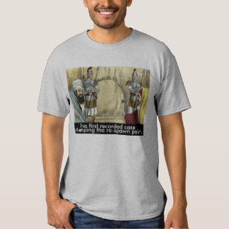 Biblical Camping the Re-Spawn Point T-shirts