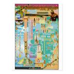 Biblical Genealogy Chart Postcard