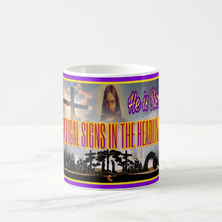"Biblical Signs ""He is RISEN"" Mug"