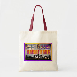 "Biblical Signs ""He is RISEN"" Tote Bag"