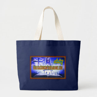 """Biblical Signs ITH """"2017 CHRISTMAS"""" Tote (Large)"""