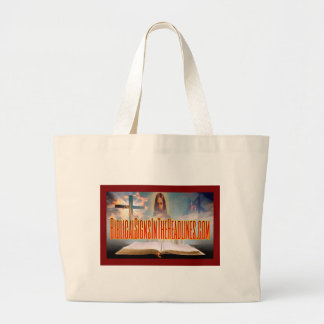 Biblical Signs Large Tote Bag