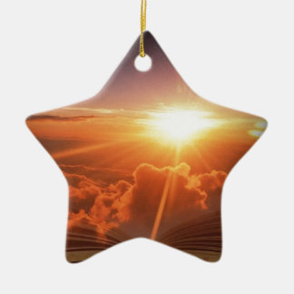 Biblical Sunset Christmas Ornament