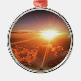Biblical Sunset Christmas Ornament