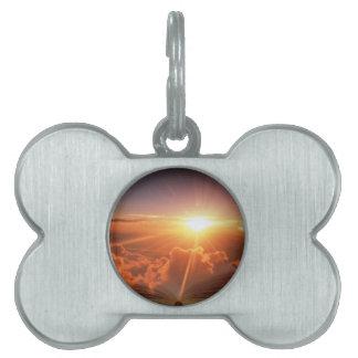 Biblical Sunset Pet ID Tag