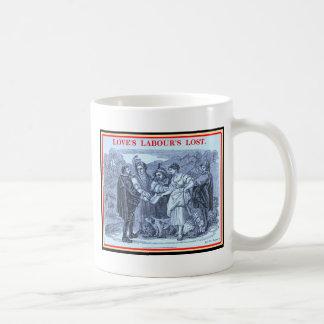 Bibliomania: Shakespeare - Love's Labour's Lost Basic White Mug