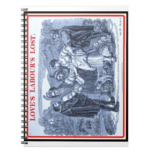 Bibliomania: Shakespeare - Love's Labour's Lost Notebooks