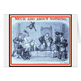 Bibliomania: Shakespeare - Much Ado About Nothing Card