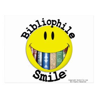 Bibliophile Smile Post Card