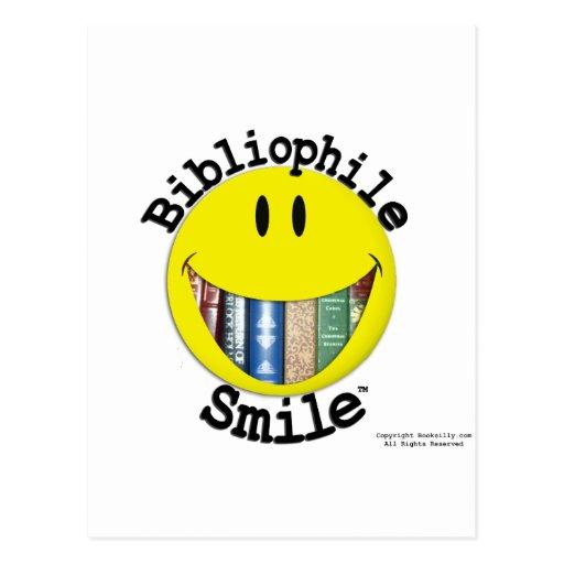 Bibliophile Smile Postcards