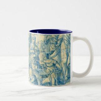 Bibo ergo sum Two-Tone coffee mug