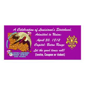 Bicentennial Louisiana Important See Notes Below Custom Rack Card
