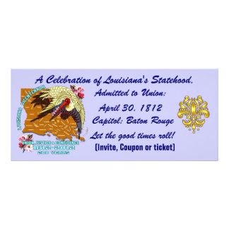 Bicentennial Louisiana Important See Notes Below Rack Cards