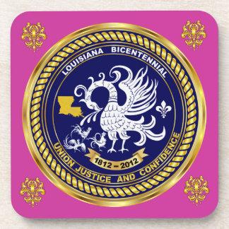 Bicentennial Louisiana Mardi Gras Party See Notes Beverage Coasters