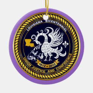 Bicentennial Louisiana Mardi Gras Party See Notes Christmas Ornament