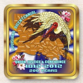 Bicentennial Louisiana Mardi Gras Party See Notes Drink Coasters