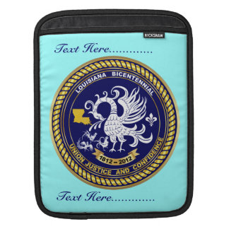 Bicentennial Louisiana Over 30 Colors See Notes iPad Sleeve