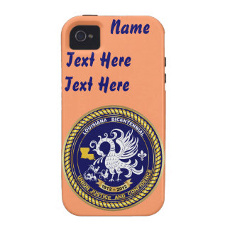 Bicentennial Louisiana Over 30 Colors See Notes iPhone 4 Case