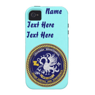 Bicentennial Louisiana Over 30 Colors See Notes Vibe iPhone 4 Case