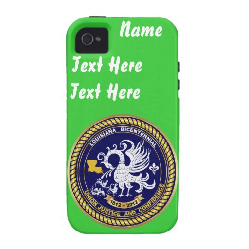 Bicentennial Louisiana Over 30 Colours See Notes Case-Mate iPhone 4 Covers