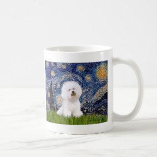 Bichon 1 - Starry Night Basic White Mug