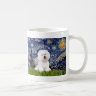 Bichon 1 - Starry Night Coffee Mug