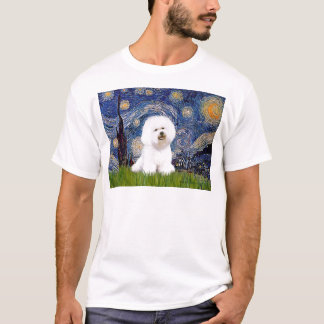 Bichon 1 - Starry Night T-Shirt